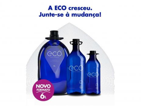 Novo Garrafão ECO 6L Reciclável